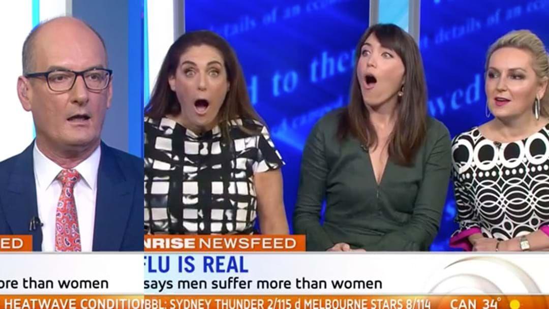Article heading image for Kochie Legit Said Men Work Harder Than Women On 'Sunrise'
