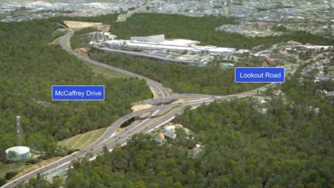 Article heading image for New Road Entrance To John Hunter Hospital